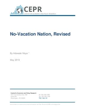 No-Vacation Nation, Revised