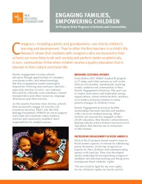 Engaging Families, Empowering Children
